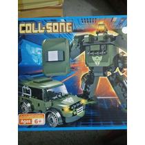 Carro Y Robot 2 En 1 Armable De Lego Bloques Cogo