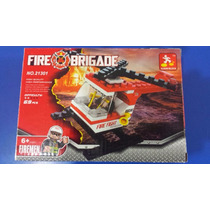 Legos Citys Helicoptero De Bombero