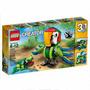 Lego Creator 3 En 1 Guacamaya Camaleon Y Mas Animales 31031