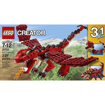 Lego City Creator 3 En 1 Dragón Escorpión Y Serpiente