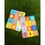 Tapete Didáctico De Foami, Numeros Y Letras, 72 Pzas 6 X 6cm