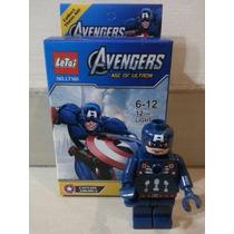 Juguete Lego Hulk Gigante Avenger Figura Armable Vengadores