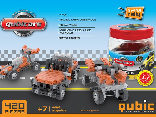 bloques construcción qubic cars encastre tienda pepino
