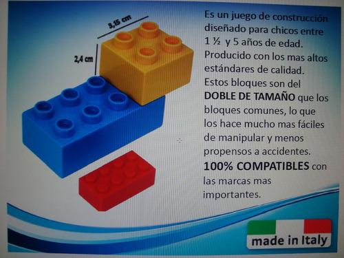 bloques construccion unico plus / lego estacion servicio ita