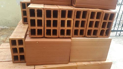 bloques de arcilla (rojos) 10 12 y 15cm
