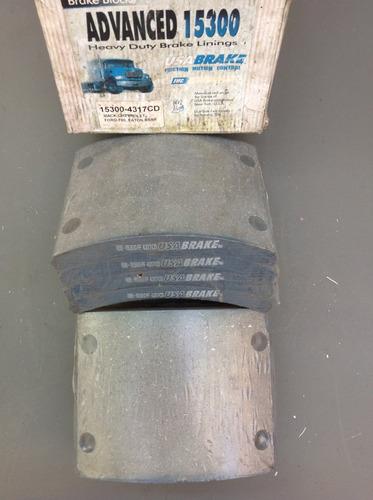 bloques de bandas de freno 4317 pasta para mack / ford 750