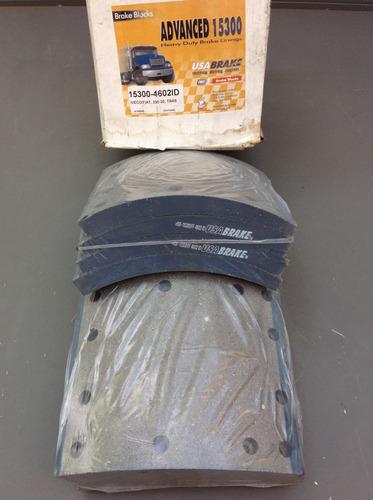 bloques de bandas de freno 4602 pasta para iveco / fiat 330