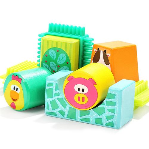 bloques de construcción de animales topbright juguete de ni