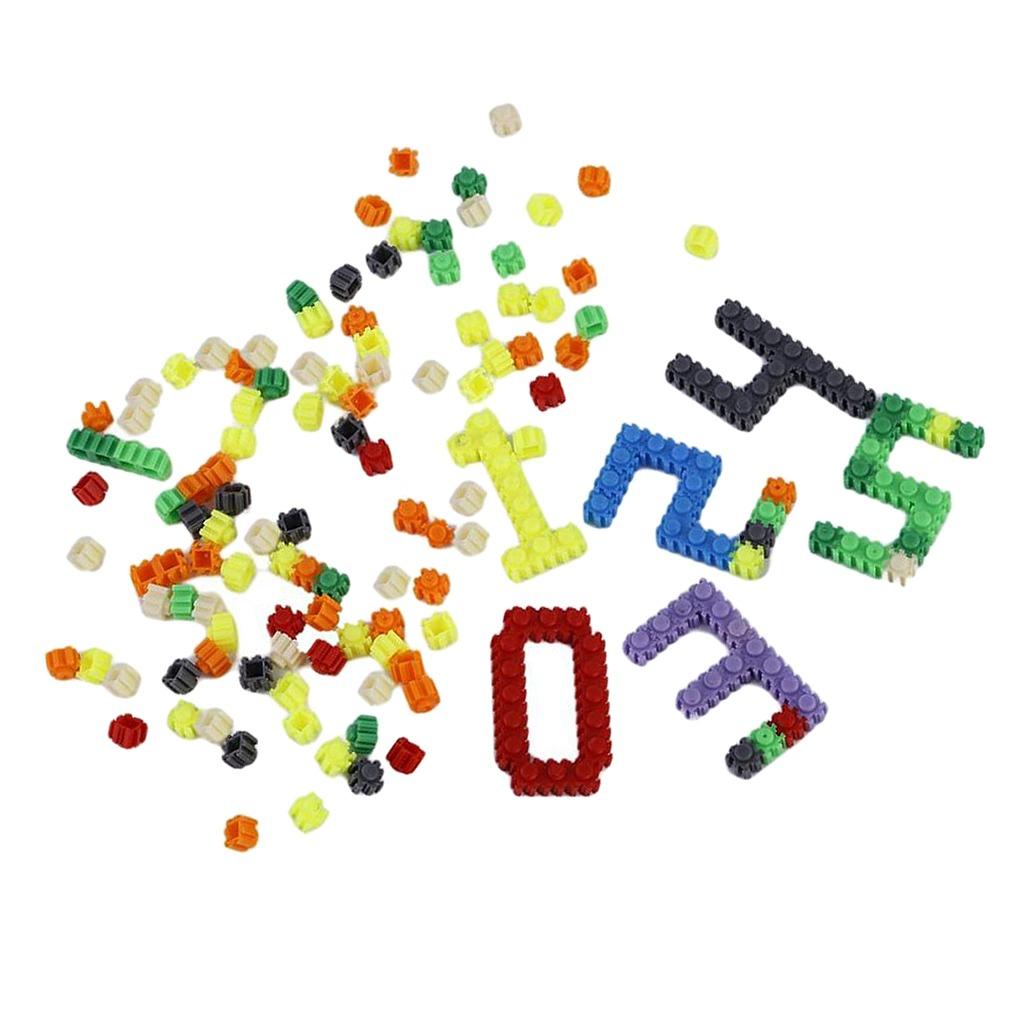 Bloques De Construcción De Plástico Juguete De Aprendizaje ...