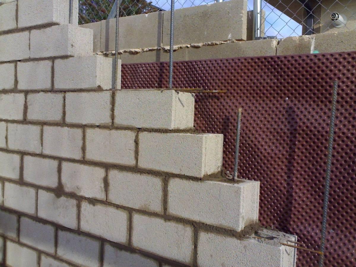 bloques de hormigon 13 x 19 x 39