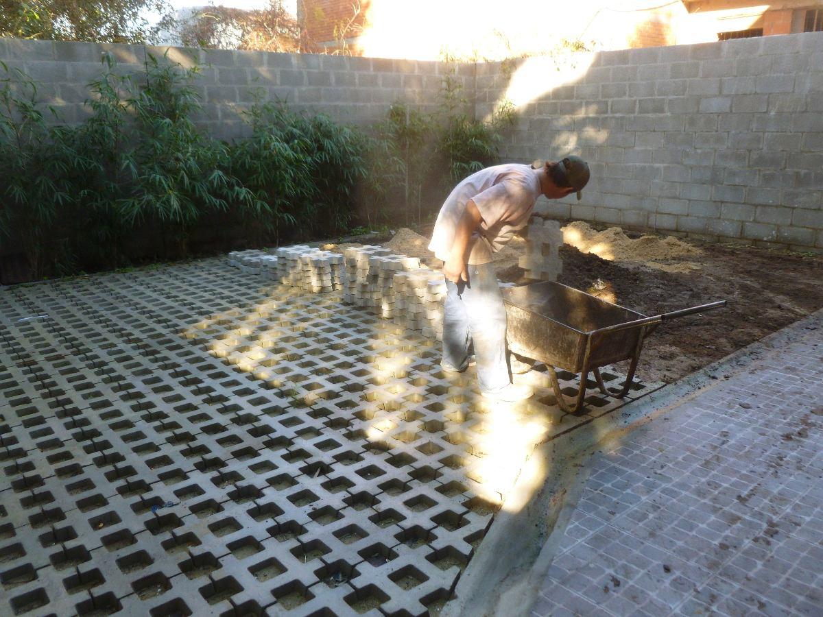 Bloques de cemento para jardin bloques de hormigon para for Suelos de hormigon para jardin