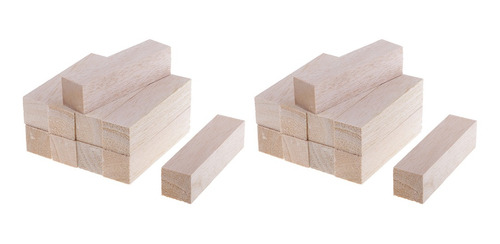 bloques de madera de balsa de grado superior varas de