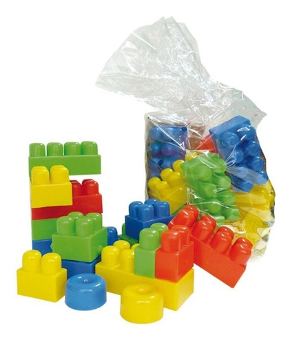 bloques didacticos gigantes tamaño xl 44 piezas