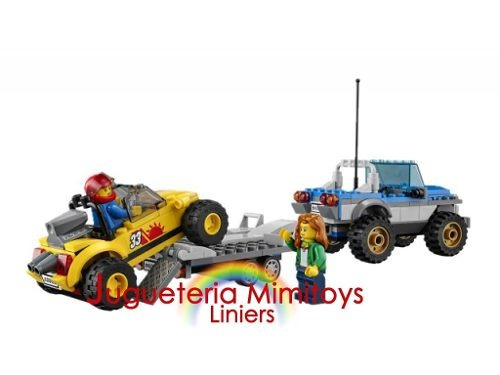 bloques dune buggy trailer coleccion city lego 60082