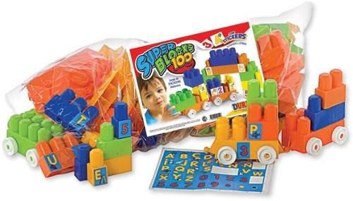 bloques duravit 100 piezas gigantes jugueteria bloque