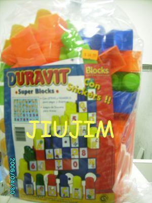 bloques duravit gigantes bolson x 100 unidades oferta jiujim