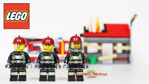bloques fire emergency coleccion city fire lego 60003