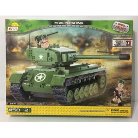 M 26 Tanque De Guerra Cobi Bloques Grande Vehiculo J1TF3uKcl