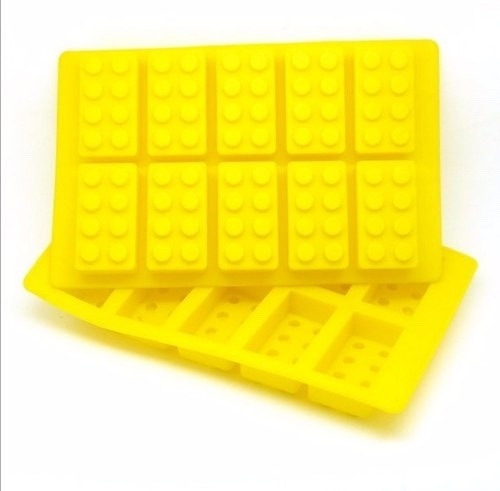 bloques molde de silicon para hielos chocolate gomitas