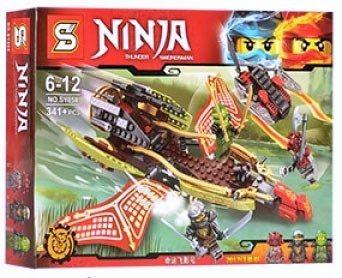 bloques ninjago sombra del destino mini figuras 341 piezas