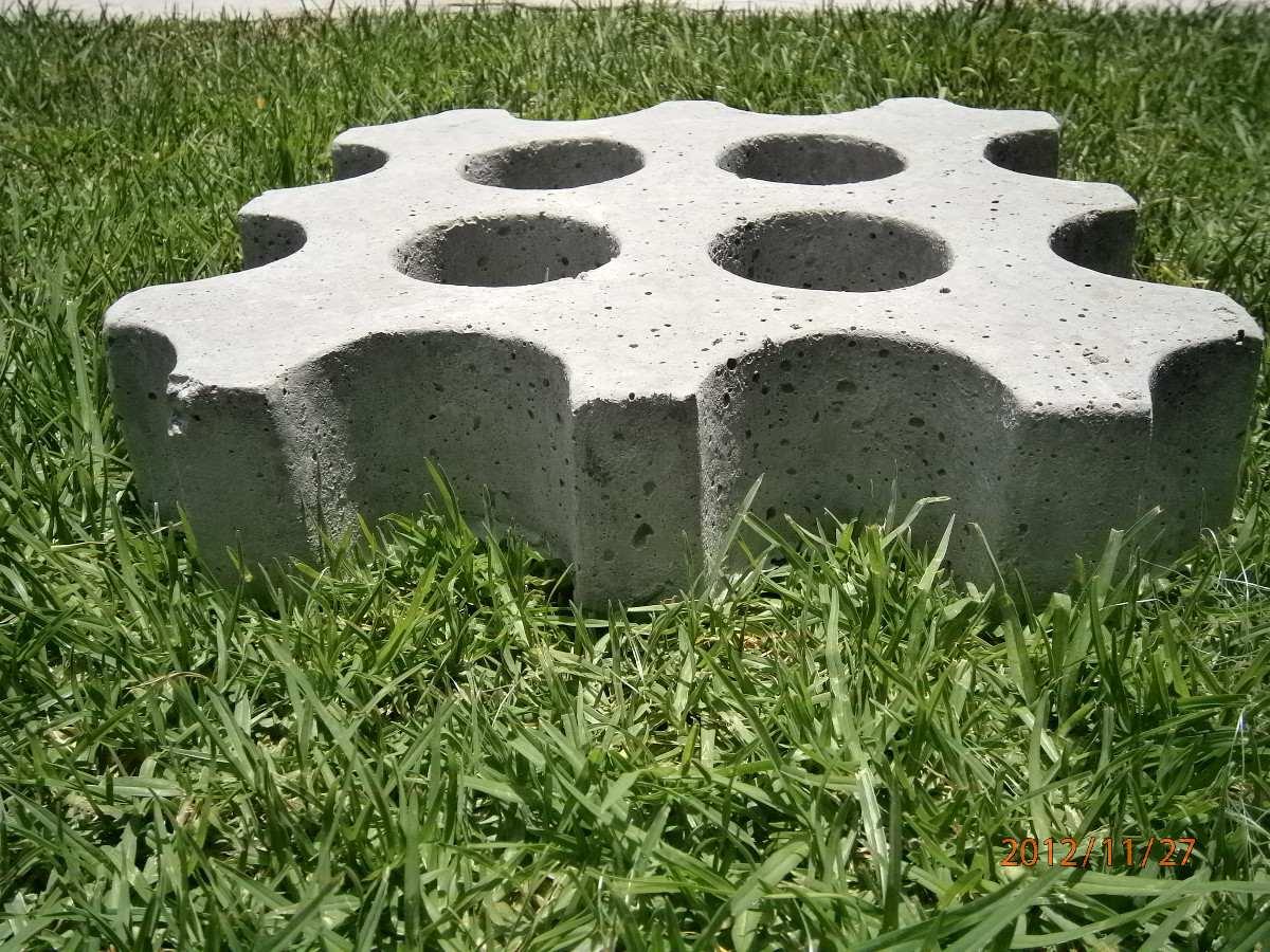 Bloques de cemento para jardin with bloques de cemento - Bloques para cesped ...