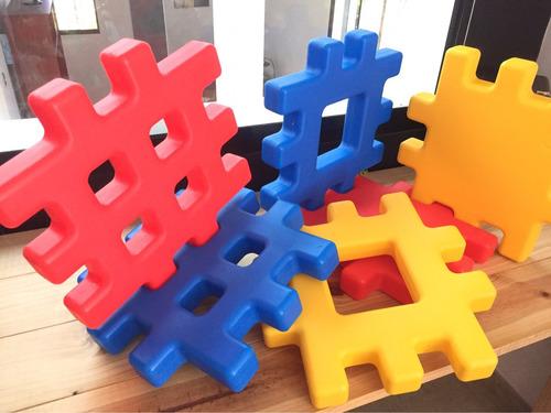 bloques para encajar - big waffle blocks - little tikes
