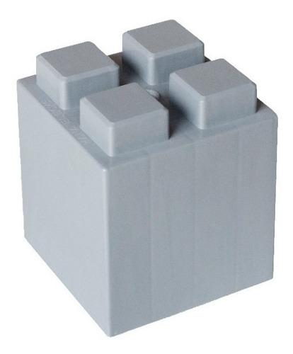bloques plásticos kit surtido 54 piezas - ladrillos gigantes
