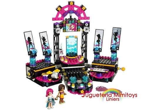 bloques pop star show stage coleccion friends lego 41105
