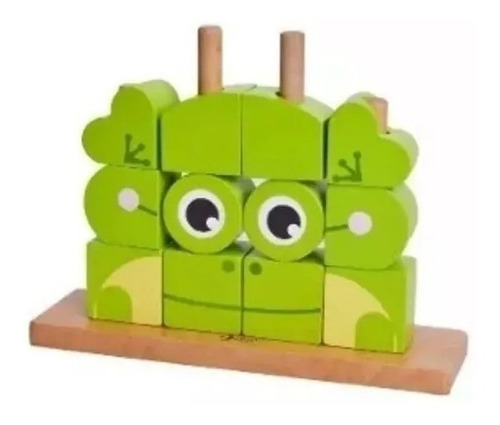 bloques rana sapo puzzle classic world educando full