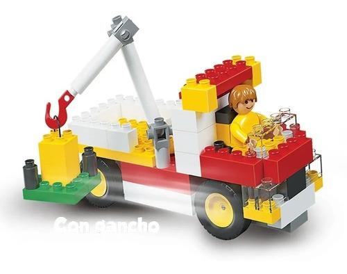 bloques rasti autos & camiones 01-1080 original educando