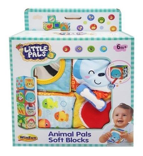 bloques soft animales win fun