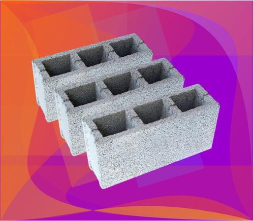 bloques vibrados!!! la mejor calidad!! materiales barraca!!