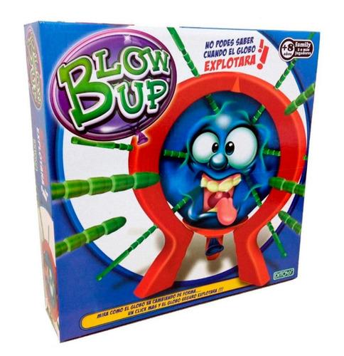 blow up ditoys juego de mesa los globos que explotan de tv