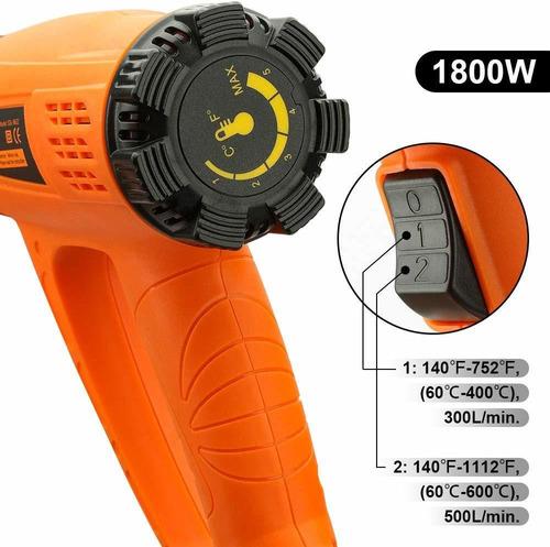 blower de temperatura heat gun variable temperature, yome 18