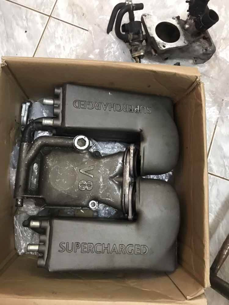 Blower,supercharger, Eaton ,m112 ,v8,admissão,land Rover