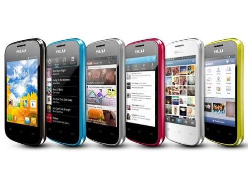blu dash celular