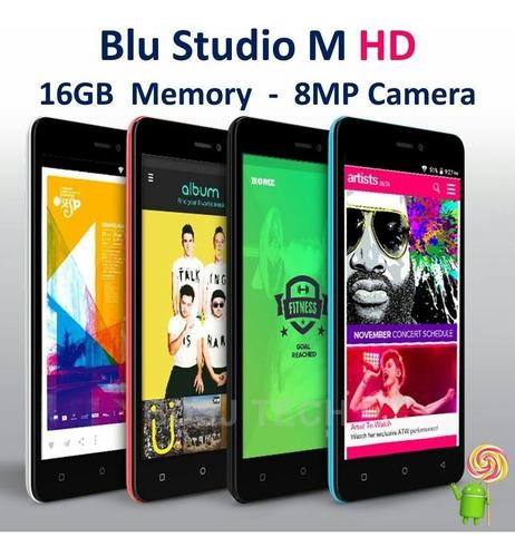 blu dash m hd modelo 2017 16gb 8mp 5 hd factura por escrito