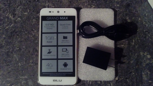 blu grand max android 6.0 5  8mp nuevo!