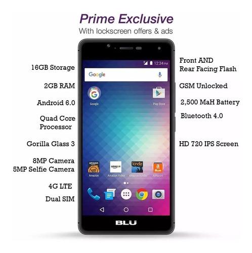 blu r1 hd 16 gb 4g lte dual sim nuevos liberados aprovecha!!
