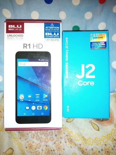 blu r1 y samsung j2