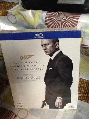 blu-ray 007 coleção daniel craig 3 discos