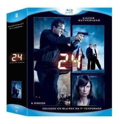 blu-ray  24  horas 7º temporada 06 discos