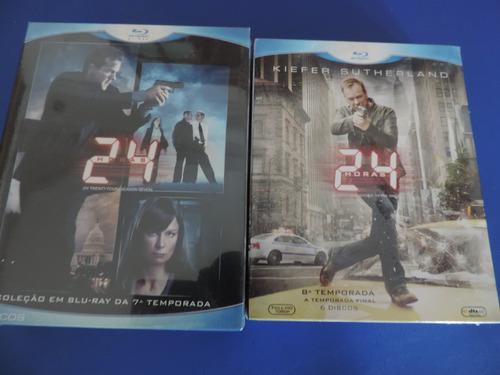 blu ray 24 horas 7ª temporada box 6 discos lacrado original