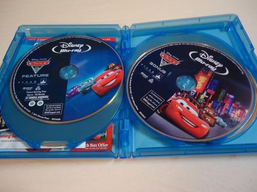 blu-ray 3 d disney : cars 2 (combo 5 discos pack) fanáticos!