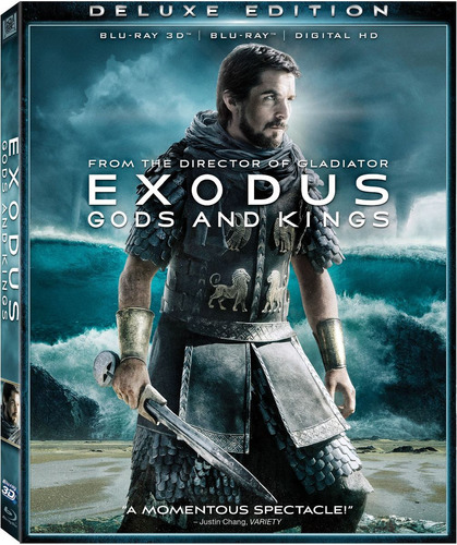blu-ray 3d : exodus: gods and kings (with blu-ray, 3...