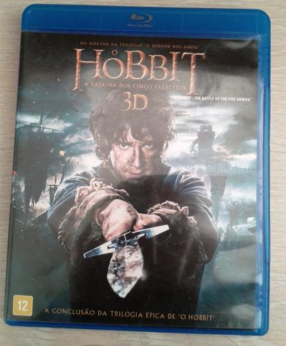blu ray 3d - hobbit - a batalha dos cinco exércitos