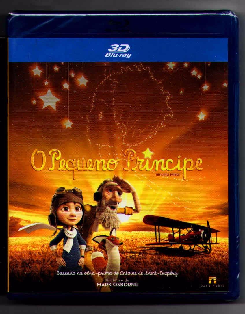 Filme O Pequeno Principe 2015 in blu-ray 3d o pequeno príncipe- lacrado - r$ 44,99 em mercado livre