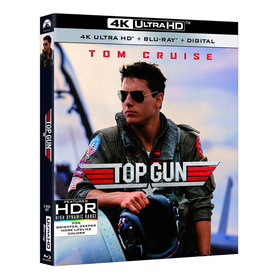 Blu Ray 4k Ultra Hd Top Gun - Dub/leg. Lacrado. C/luva