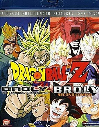 blu-ray a 1 dragon ball z: broly double feature [blu-ray
