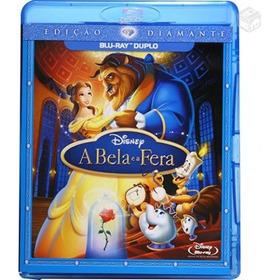 Blu Ray A Bela E A Fera Ed. Diamante Duplo Original Lacrado